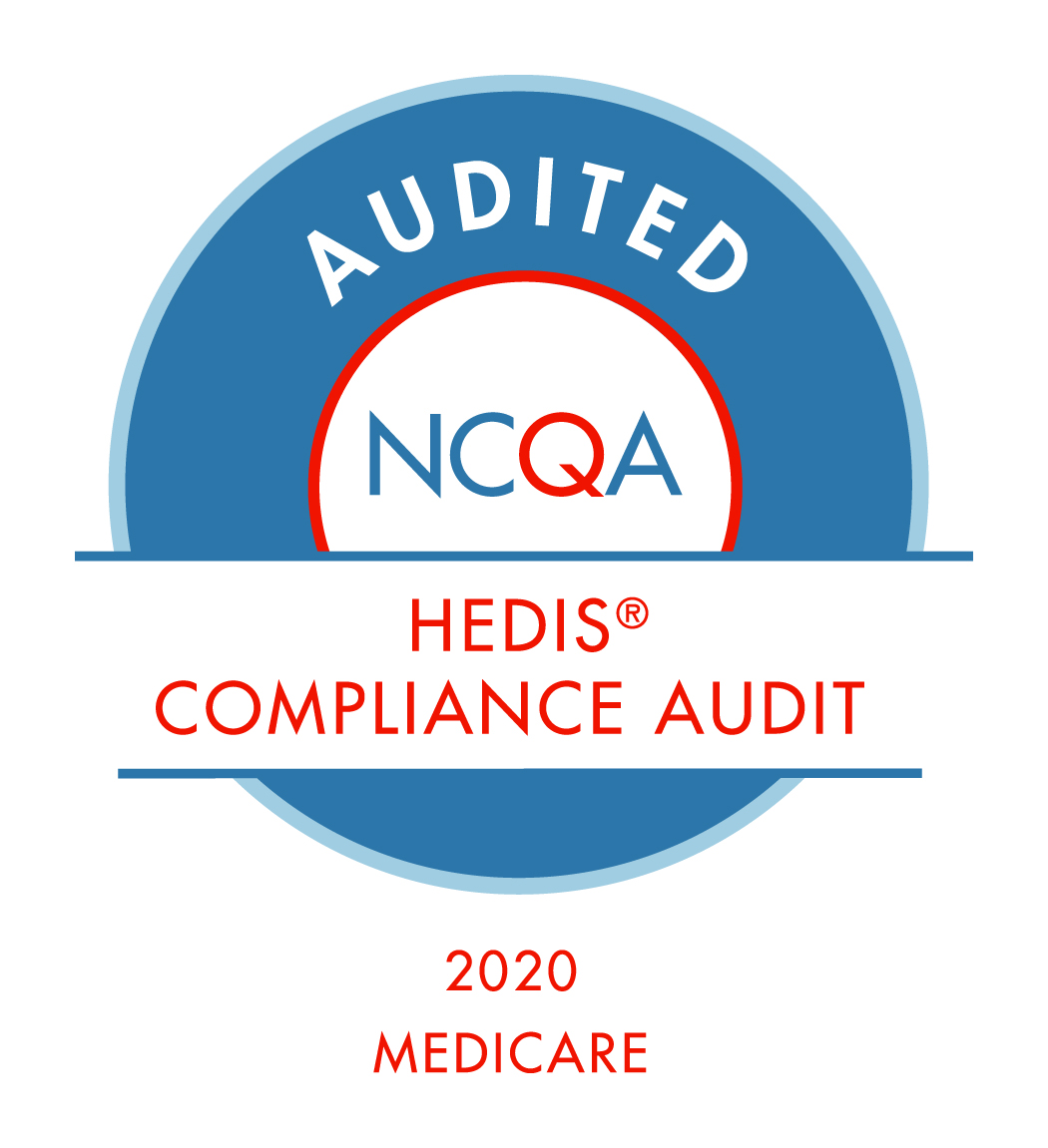 HEDIS Compliance audit award for 2020
